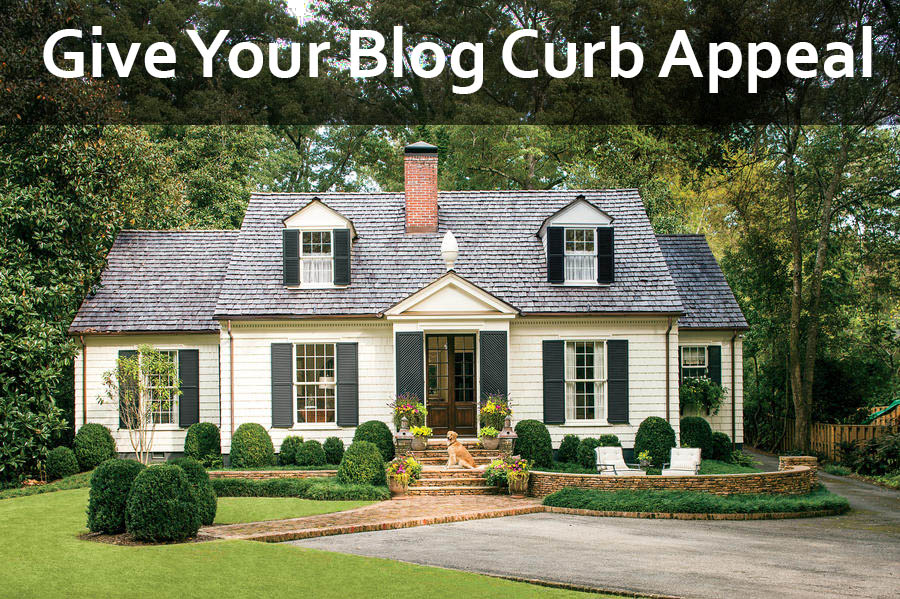 blog curb appeal