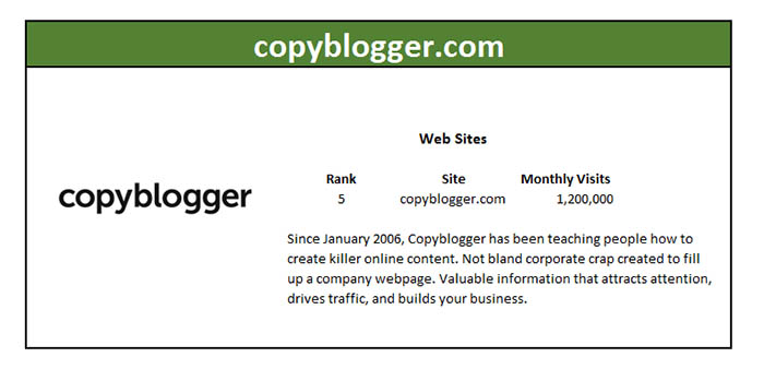 copyblogger marketing master profile