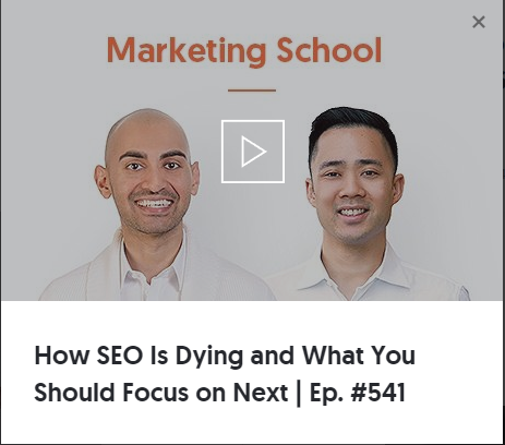 neil patel seo is dying