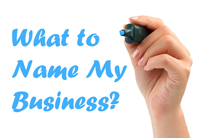 what to name my business ideas